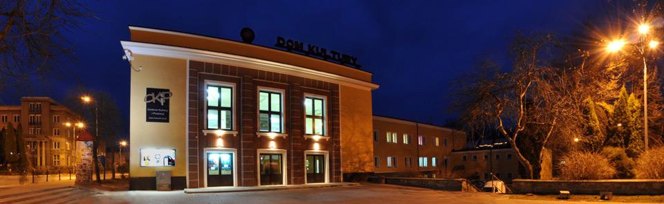 Zdjęcie przedstawia budynek Centrum Kultury i Promocji